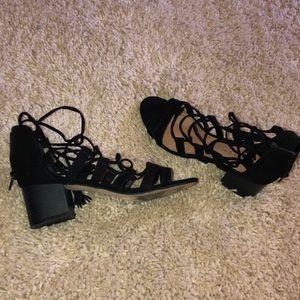 Block heeled sandals